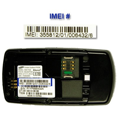 where can i find imei number